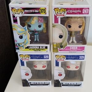 Pop figurines